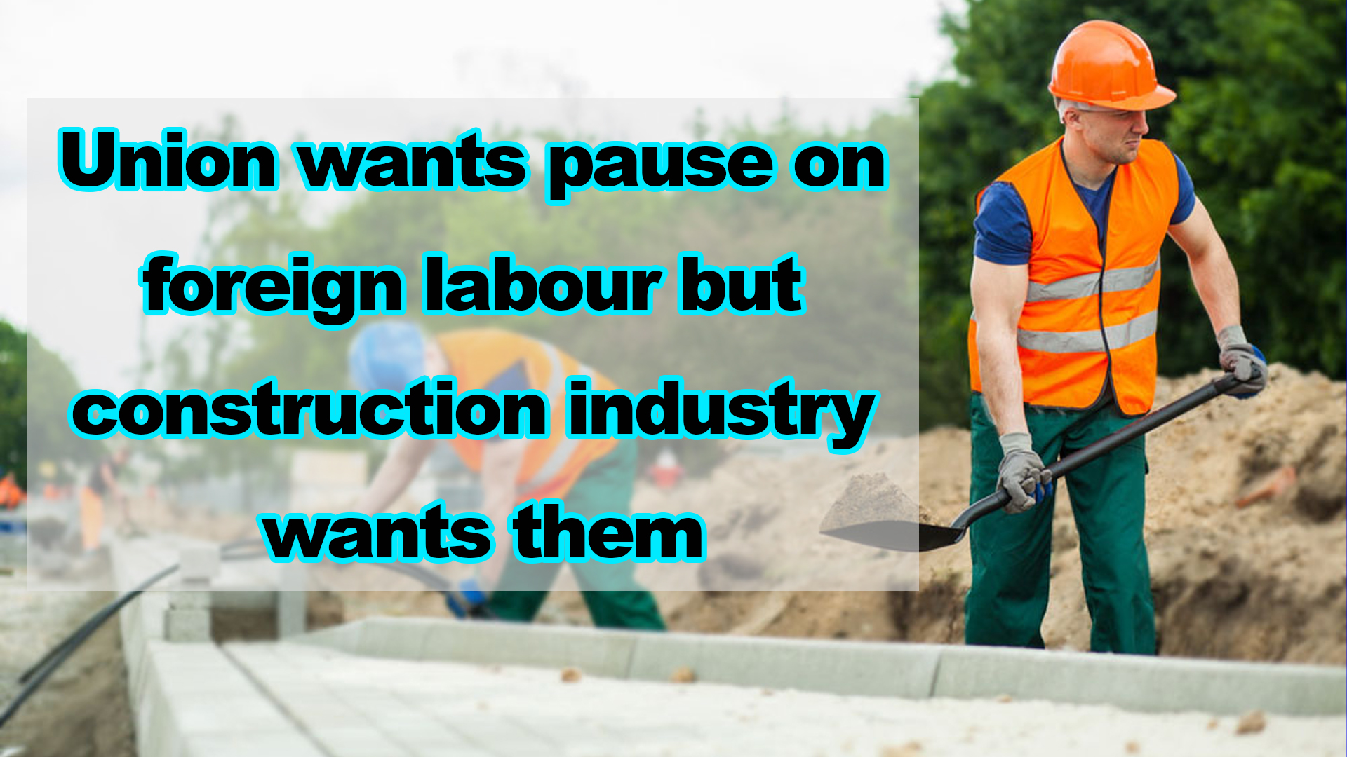 Union wants pause on foreign labour but construction industry wants them - NZ Punjabi News